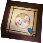 フェルト羊毛刺繍ワークショップ&カラーセラピー