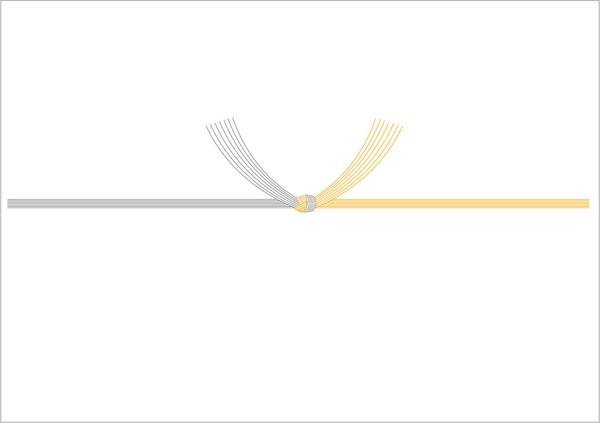 黄白5本結びきり